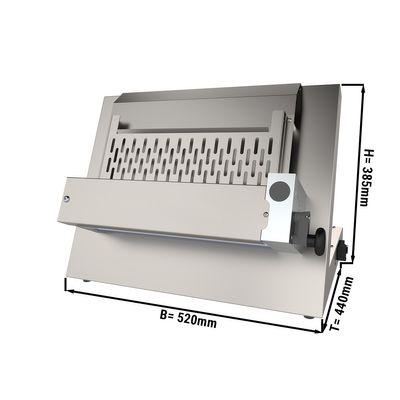 Teigausrollmaschine / Teigausroller - für 35 cm Pizzateig