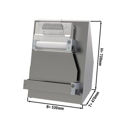 Teigausrollmaschine / Teigausroller - für 40 cm Pizzateig