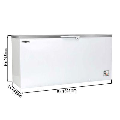 Tiefkühltruhe - 567 Liter - mit Edelstahldeckel