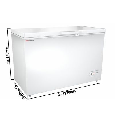 Freezer 358 liters (net capacity) / Energy class A+