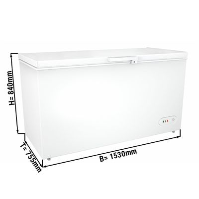 Freezer 459 liters (net capacity) / Energy class A+