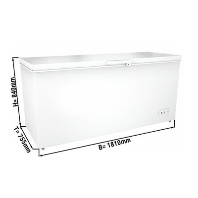 Freezer 560 liters (net capacity) / Energy class A+