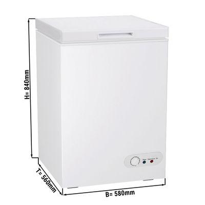 Tiefkühltruhe - 97 Liter (Nettoinhalt) - Energieklasse A+