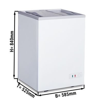 Freezer 97 liters (net capacity) / Energy class A