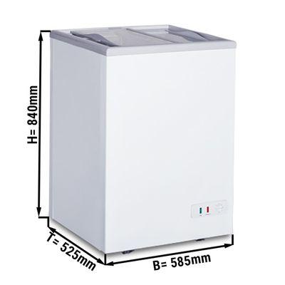 Tiefkühltruhe 97 Liter (Nettoinhalt)  / Energieklasse A
