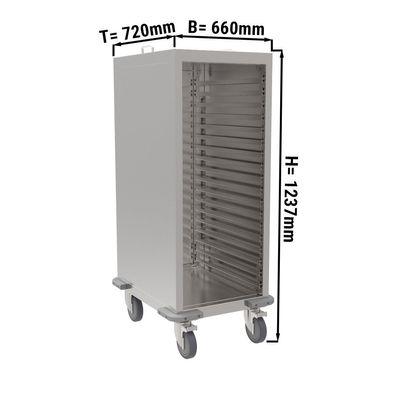 Tablettwagen - 10x GN 2/1 oder 20x GN 1/1