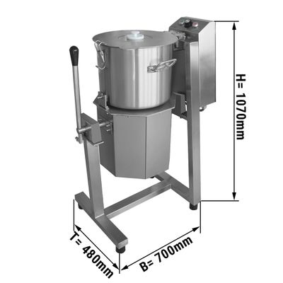 Vegetarischer/ Hummus Cutter - 20 Liter