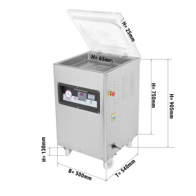 Vacuummachine 20 m³/h