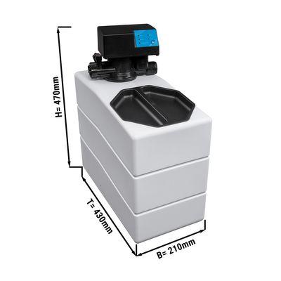 Wasserenthärter - halbautomatisch - Leistung: 840 Liter