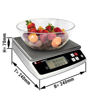 Digital scales 5 kg / Accuracy to: 0,5 g
