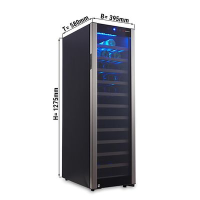 Wine refrigerator 160 liter / 1 climatic zone
