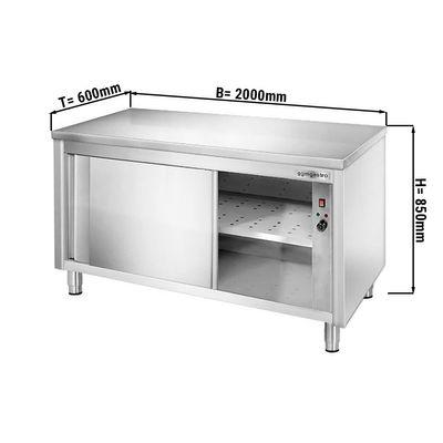 Wärmeschrank PREMIUM - 2,0 m