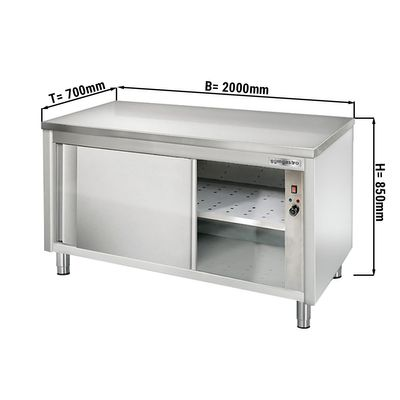 Wärmeschrank ECO - 2,0 m