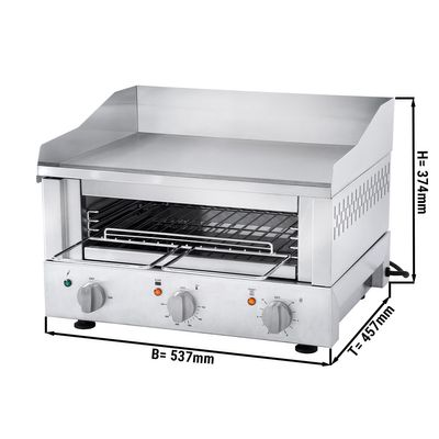 Roband- Industrial Toaster 500- Grill + Salamander
