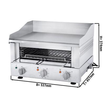 Roband Griddle Toaster 500 - Grill + Salamander