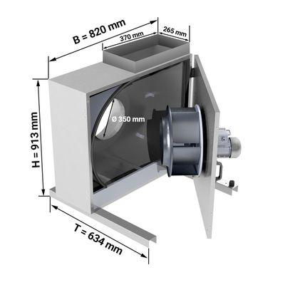 Airbox Pro - 4540 m³ pro Stunde