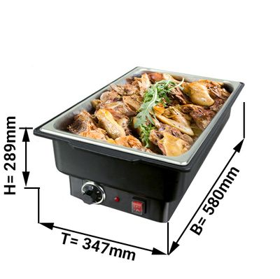 Chafing Dish  electric  GN1/1 / 100 mm