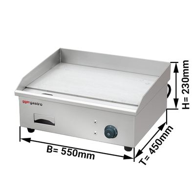 Electric grill griddle plate 0.55 m