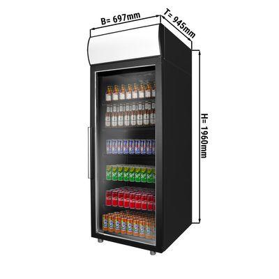 مبرد مشروبات - 700 لتر - باب واحد زجاجي