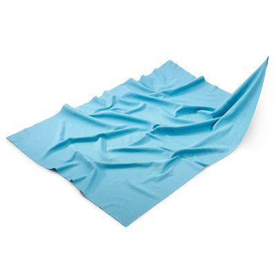 (10 Stück) Mikrofasertuch Gläsertuch blau - 50 x 70 cm
