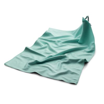 Microfibre cloth polishing- / dishcloth green - 50 x 70 cm - set of 10