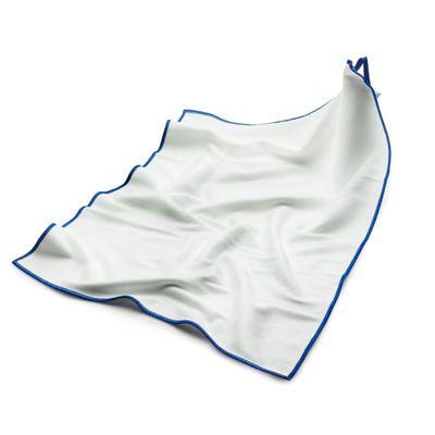 (10 Stück) Mikrofasertuch Polier-/ Geschirrtuch weiß - 50 x 70 cm