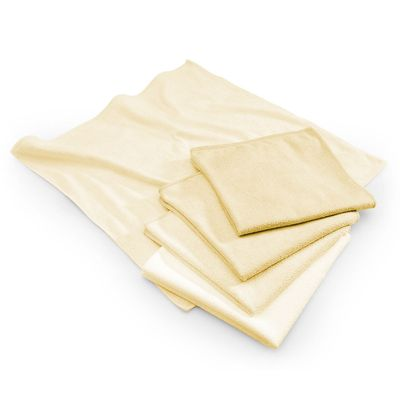 Microfibre cloth yellow - 40 x 40 cm - set of 10