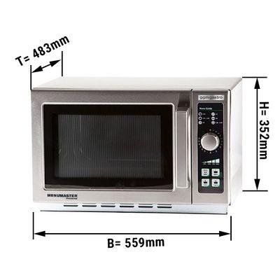 Microwave - 34 litres - 1100 Watt