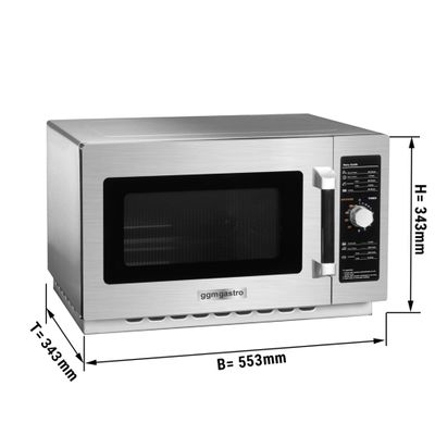 Microwave - 34 litres - 1000 watts