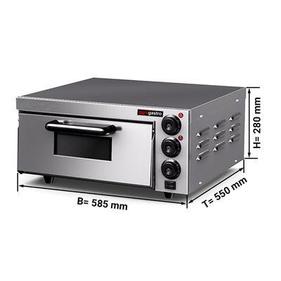 Pizza oven - 4x 20 cm