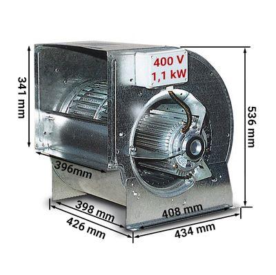 Radialventilator 7000 m³ pro Std. - für Airboxen