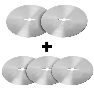 (5 Stück) Rundes Schneidemesser mit glatter Klinge - Ø 120 mm für Dönerschneider