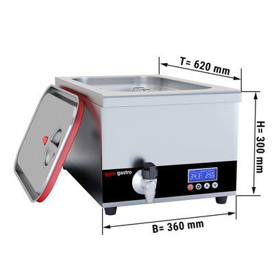 Sous-Vide Garer - 24 Liter | Sous-Vide | Wasserbad | Garer |  Softcooker
