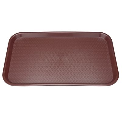 GN 1/1 polypropylene tray - brown