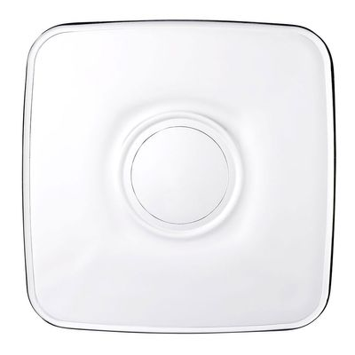 Aida saucer for tea glasses - square - 102 x 102 mm - set of 24