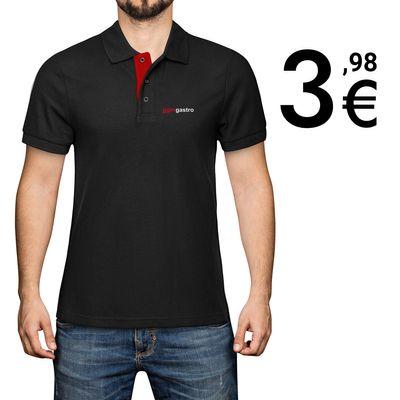 (5 Stück) Poloshirt - Schwarz - Größe: S