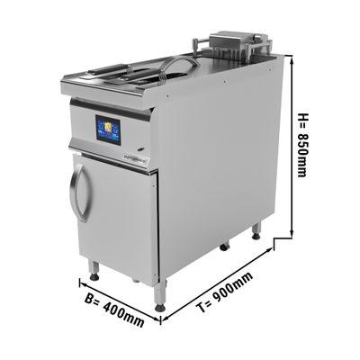 Automatic electric deep fryer - single - 25 litres