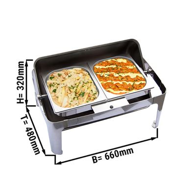 Chafing Dish GN 1/1 - with roll cover