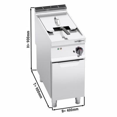 Electric deep fat fryer 22 litres (22 kW)