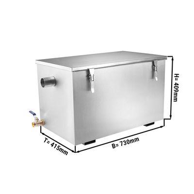Séparateur de graisses - 44litres   séparateur huiles   séparateur corps gras   séparateur   gastronomie