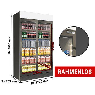 Beverage refrigerator - 1048 litres (net volume) - BLACK