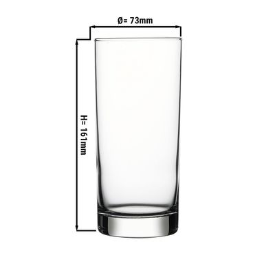 Istanbul long drink glass - 0.48 litres - set of 12