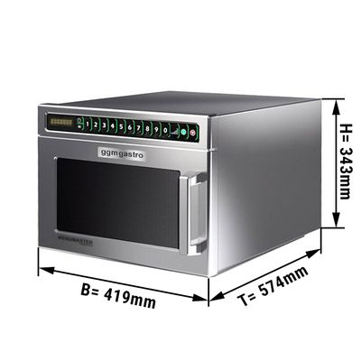 Microwave oven automatic 17 litres - 2100 Watt
