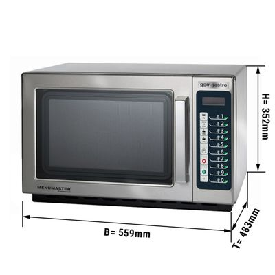 Microwave oven automatic 34 litres - 1100 Watt