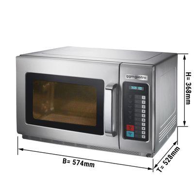 Microwave digital 34 litres - 2100 watts