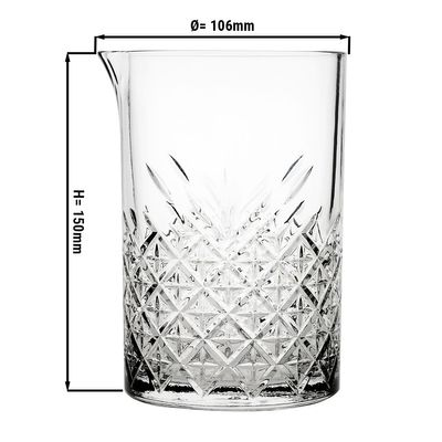 Timeless mixing glass - 0.725 litres - set of 6