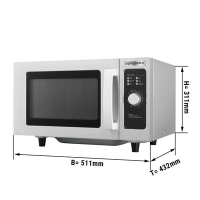 Microwave - 25 litres - 1000 watts