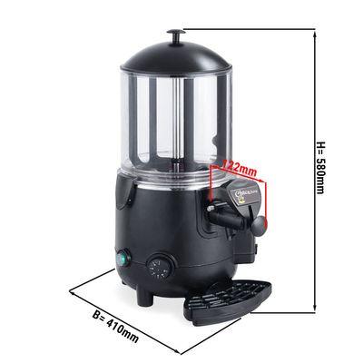 Chocolate dispenser / Salep - 10 Liter - Black