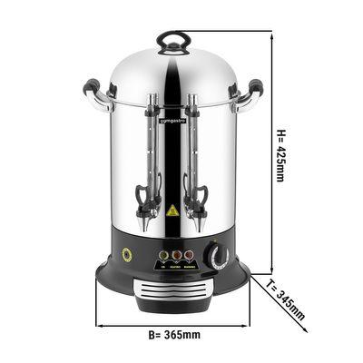 Machine à thé inox - 12 litres