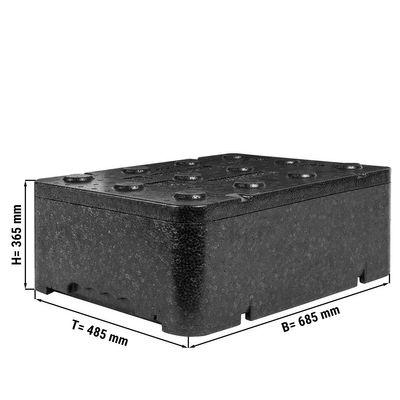 Thermobox / Polibox - für EN Bleche - 685 x 485 x 365 mm